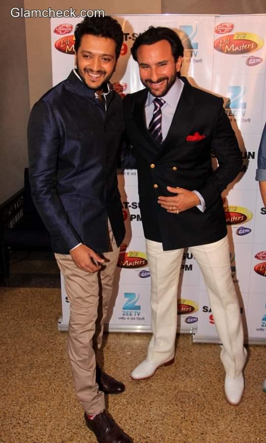 Riteish Deshmukh and Saif Ali Khan Cast of Humshakals