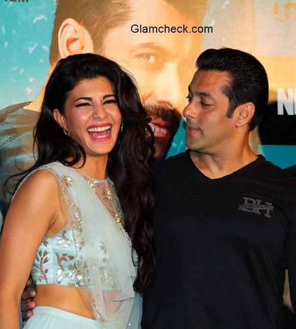 Salman Khan Jacqueline Fernandes Launch Kick Trailer