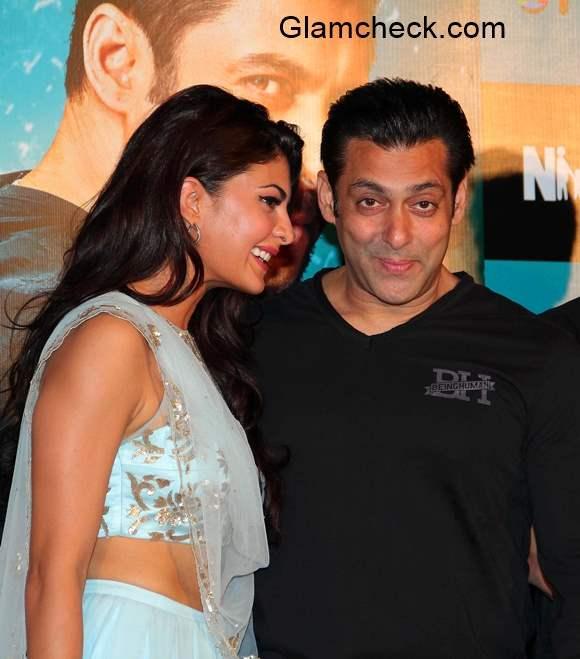Salman Khan and Jacqueline Fernandes Launch Kick Trailer