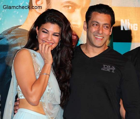 Salman Khan and Jacqueline Fernandes in Kick