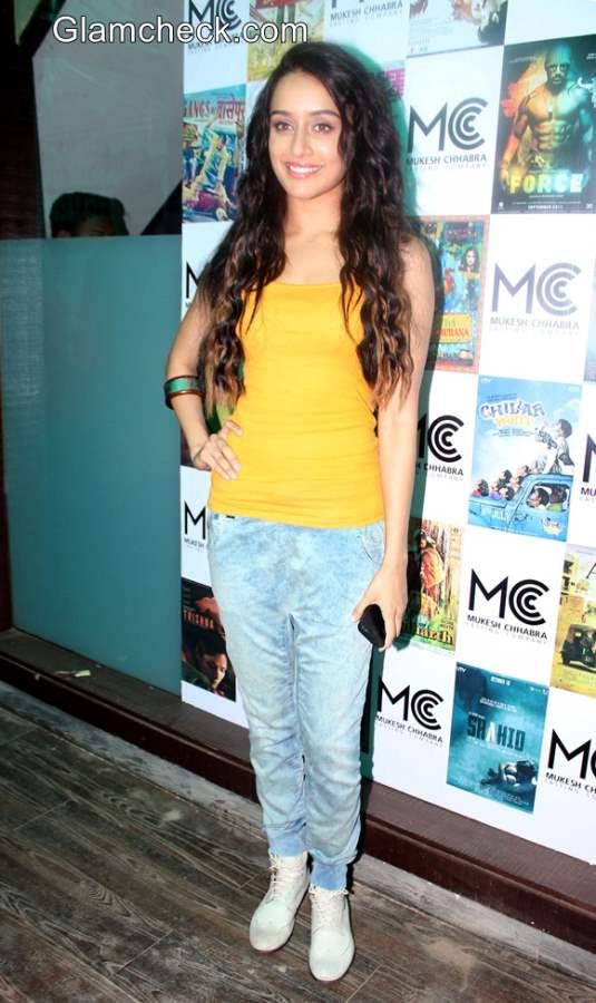 Shraddha Kapoor 2014 Casual Style
