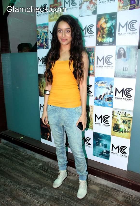 Shraddha Kapoor at Mukesh Chhabras Casting Studio Launch