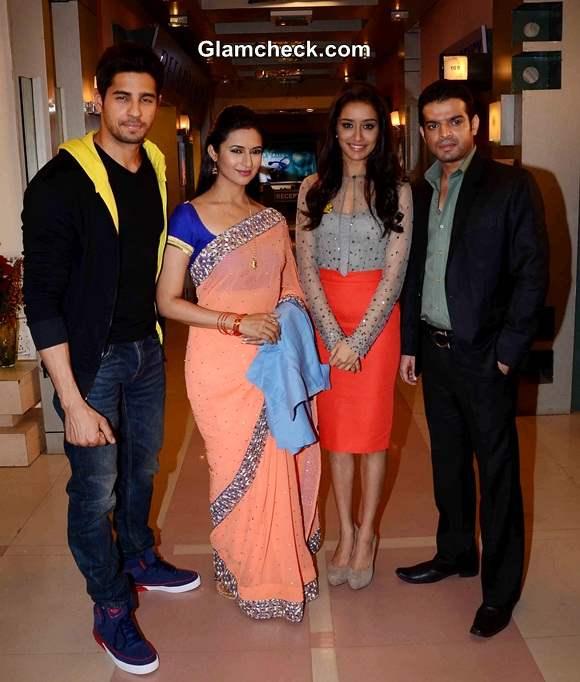 Sidharth and Shraddha Promote Ek Villain on TVs Ye Hai Mohabbatein