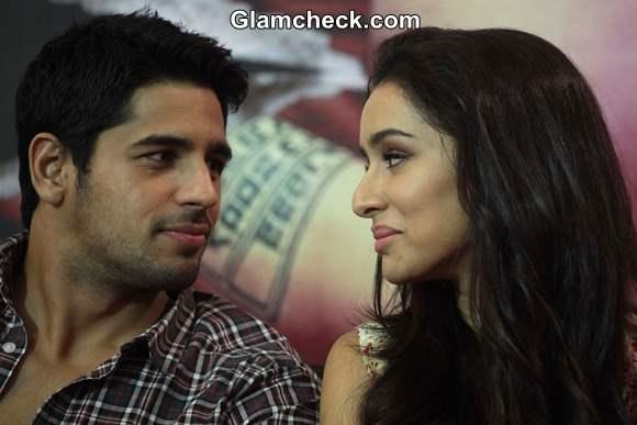 Sidharth and Shraddha at for Ek Villan Promo