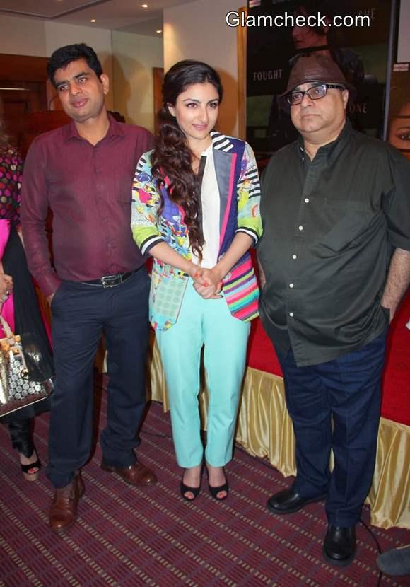 Soha Ali Khan at Chaarfutiya Chhokare Promo