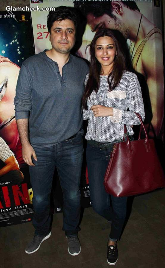 Sonali Bendre and her husband Goldie Behl