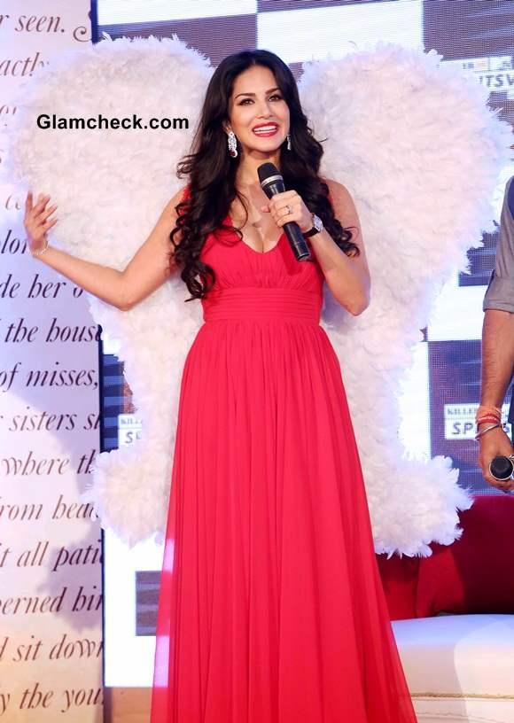 Sunny Leone at Splitsvilla 7 Launch in New Delhi