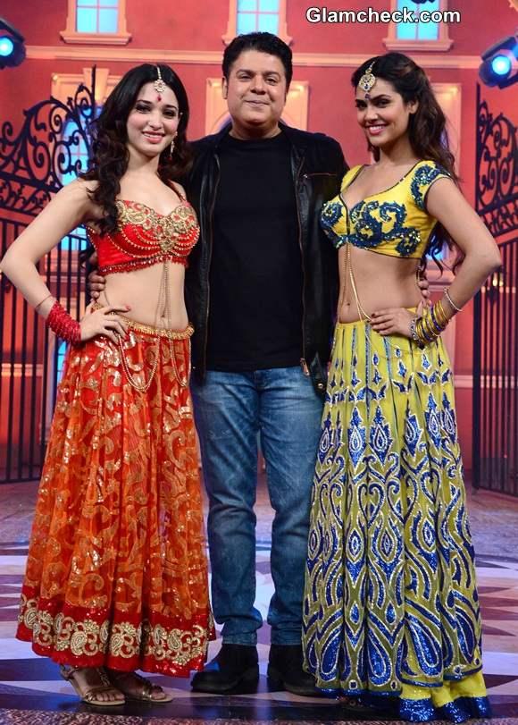 Tamannaah Bhatia and Esha Gupta in Humshakals