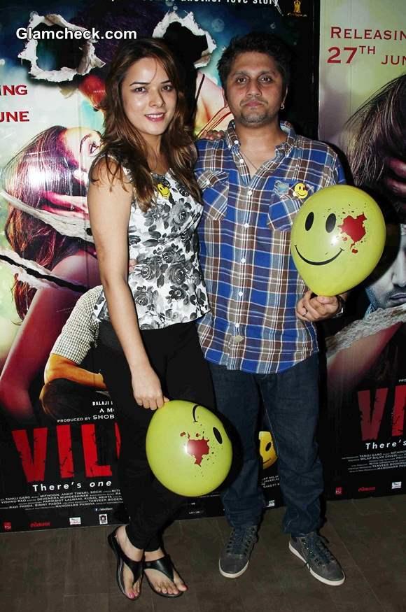 Udita Goswami with filmmaker Mohit Suri