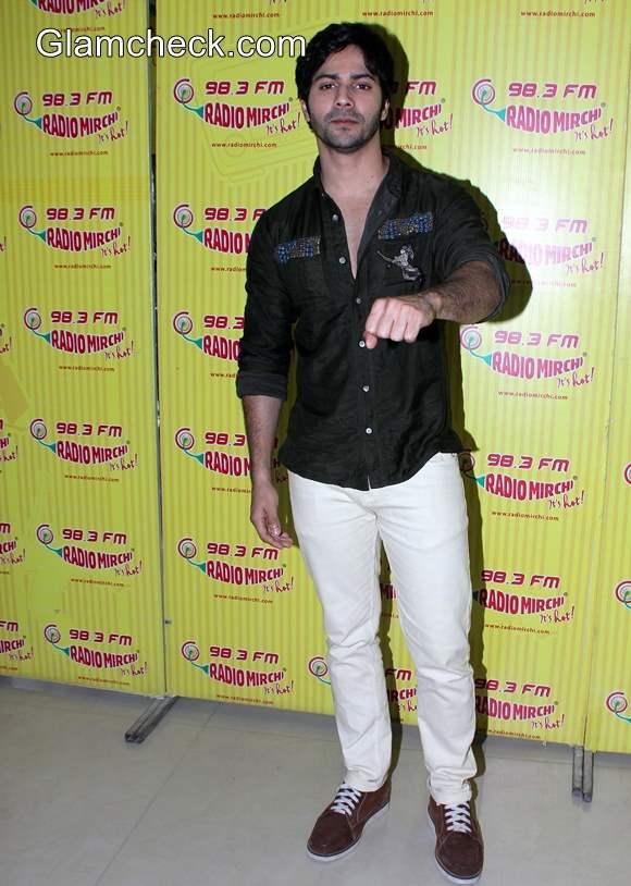 Varun Dhawan at Humpty Sharma Ki Dulhaniya Promo