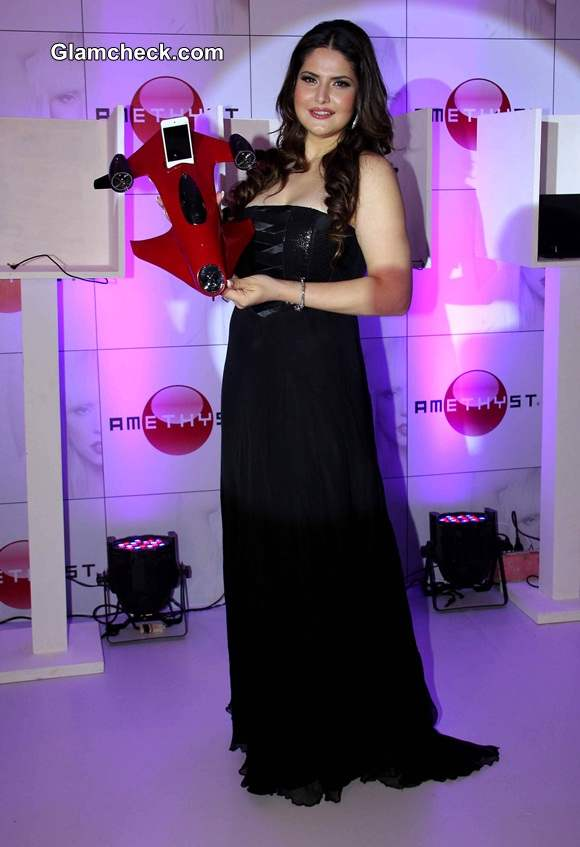 Zareen Khan at Amethyst Launch in India