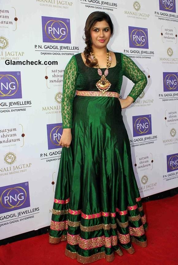 iFashion designer Manali Jagtap