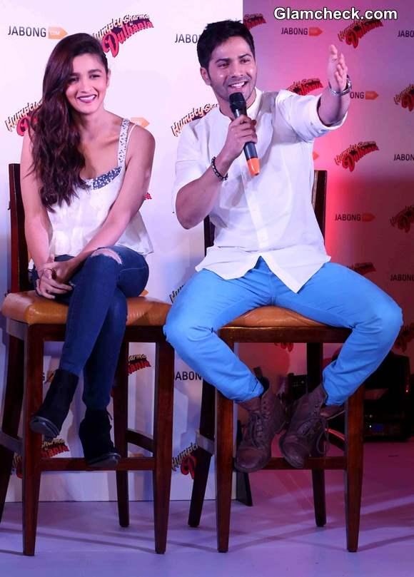 Alia Bhatt and Varun Dhawan Promote Humpty Sharma Ki Dulhania
