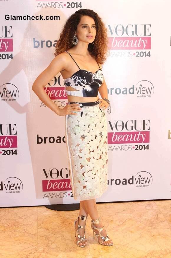 2014 Vogue Beauty Awards Kangana Ranaut
