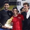 Aamir Hrithik Abhishek at Celebrity Football Match
