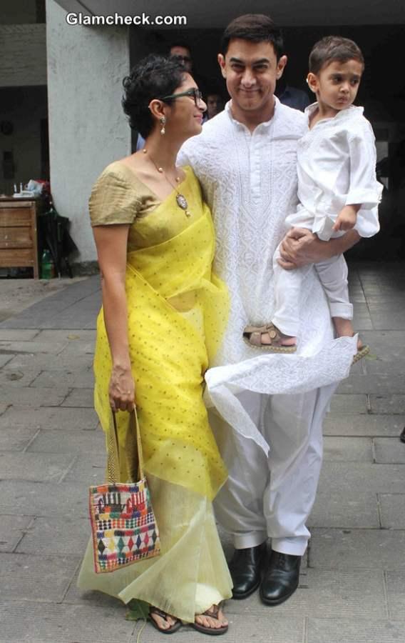 Aamir Khan Celebrates Eid with Family
