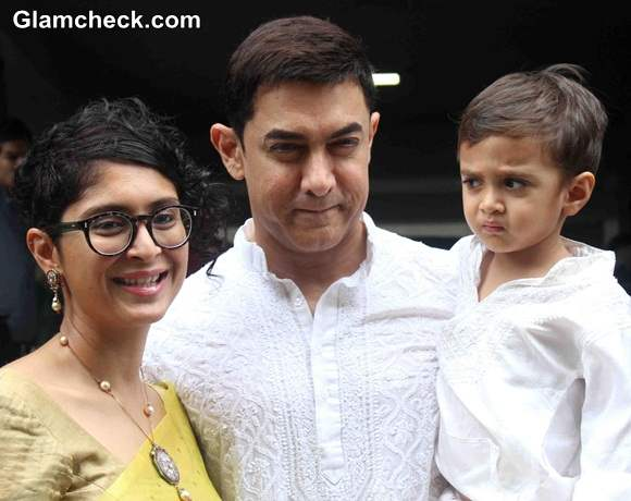 Aamir Khan Family Pictures 2014