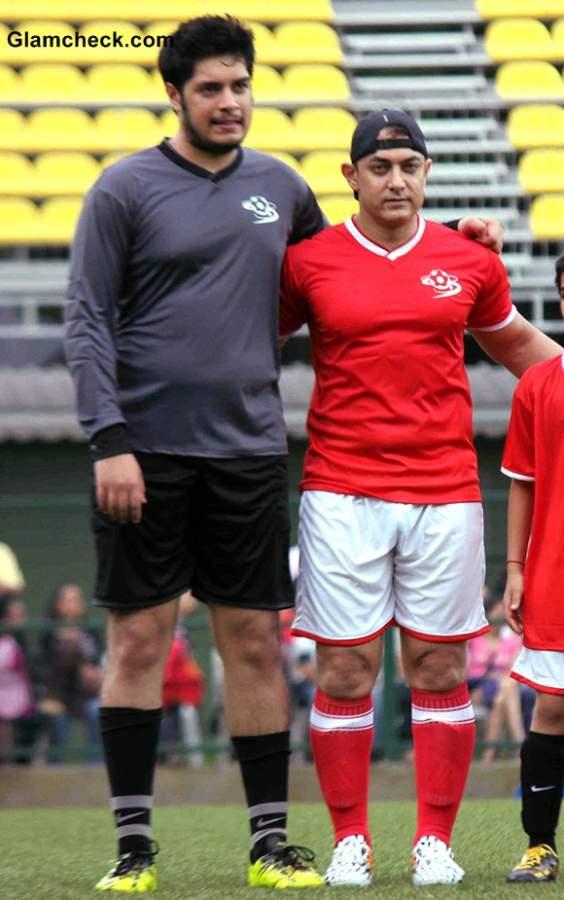 Aamir, Hrithik, Abhishek At Celebrity Football Match