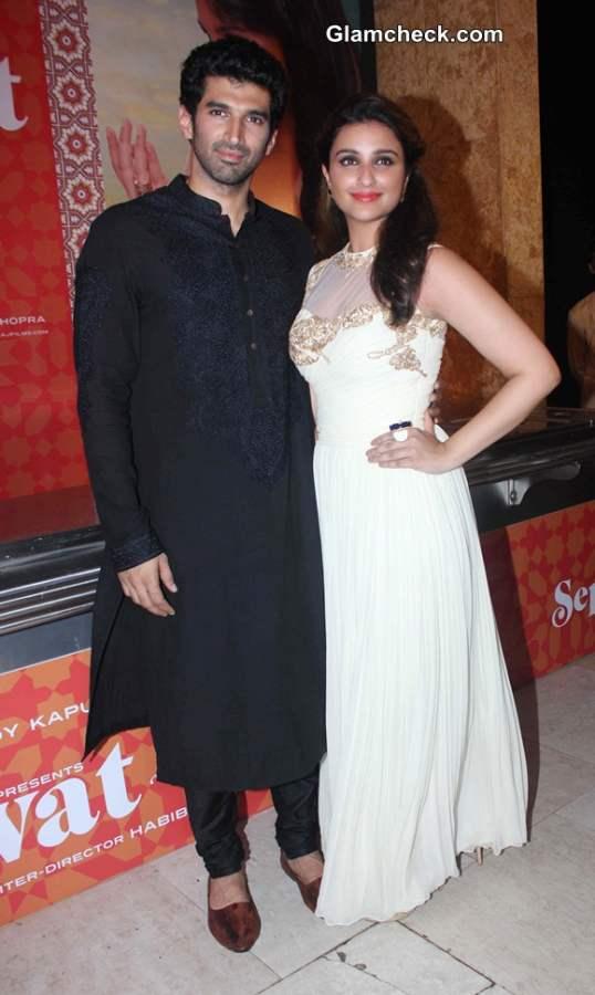 Aditya Roy Kapur and Parineeti Choprs