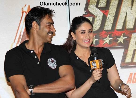 Ajay Devgan and Kareena Kapoor Launch Singham Returns Trailer