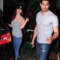 Alia Bhatt with Siddharth Malhotra at Hercules special screening pics