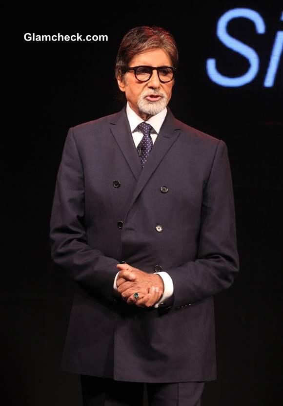 Amitabh Bachchan Launches LG G3 Indian Market