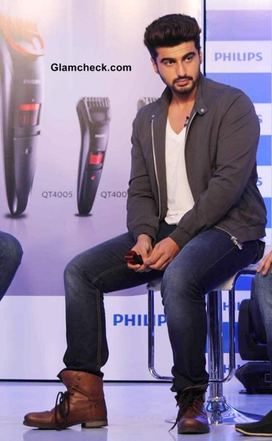 Arjun Kapoor 2014for Phillips Male Grooming Range