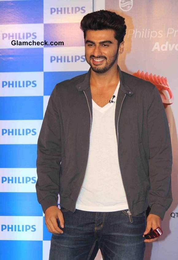 Arjun Kapoor for Phillips Male Grooming Range