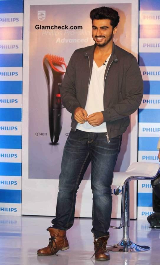 Arjun Kapoor the New Face for Phillips Male Grooming Range