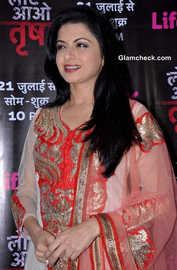 Bhagyashree in TV Show Laut Aao Trisha