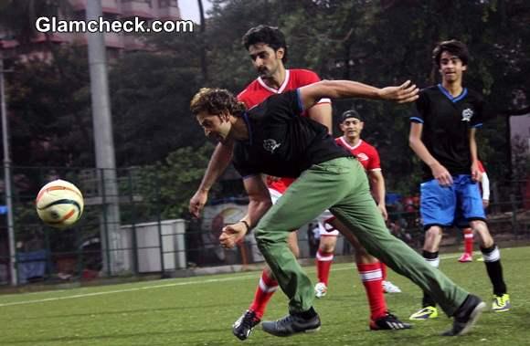 Celebrity Football Match by Iran Khan