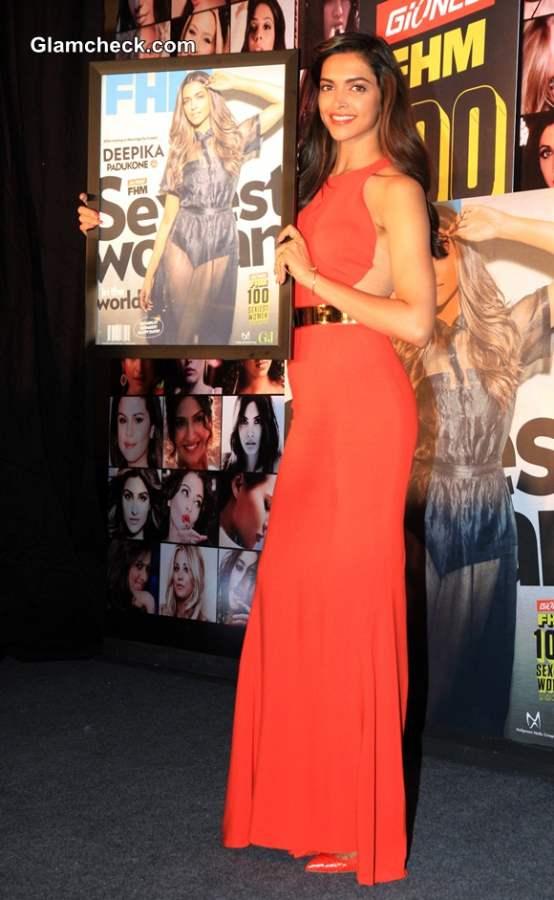 Deepika Padukone in Stella McCartney 2014 at FHM Magazine Event