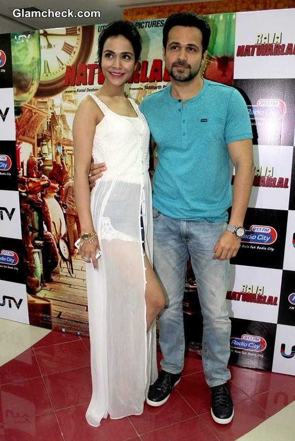 Emraan Hashmi and Humaima Malik