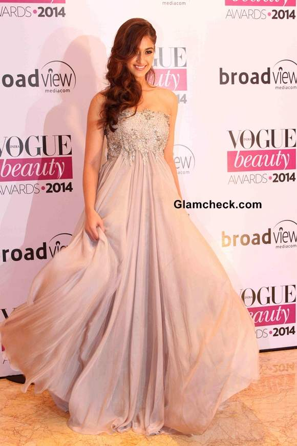 Ileana DCruz in Kommal Sood at Vogue Beauty Awards 2014