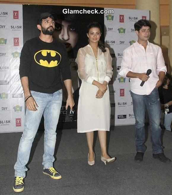 Jay Bhanusali Surveen Chawla and Sushant Singh
