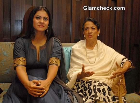 Kajol along with her mother Tanuja Mukherjee