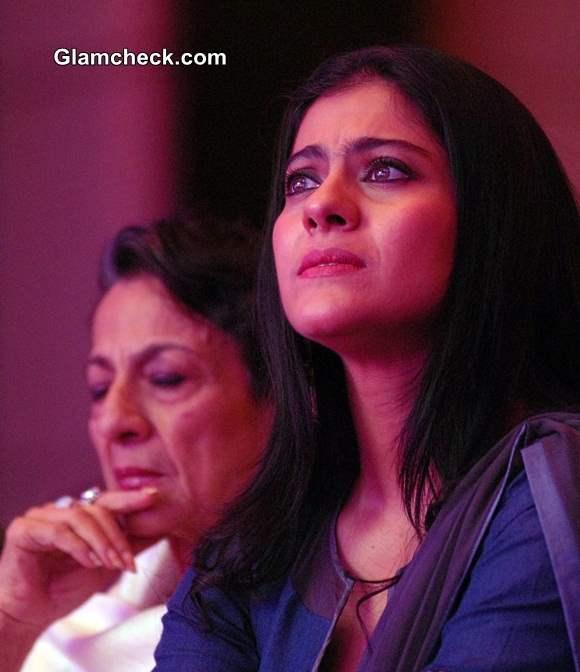 Kajol and Mum Tanuja Attend Breast Cancer Awareness Seminar