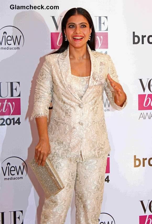 Kajol at Vogue Beauty Awards 2014