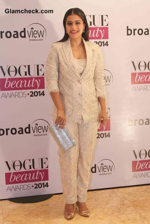 Kajol in Shehlaa at Vogue Beauty Awards 2014