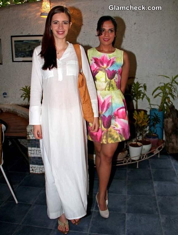 Kalki Koechlin  and Richa Chadda