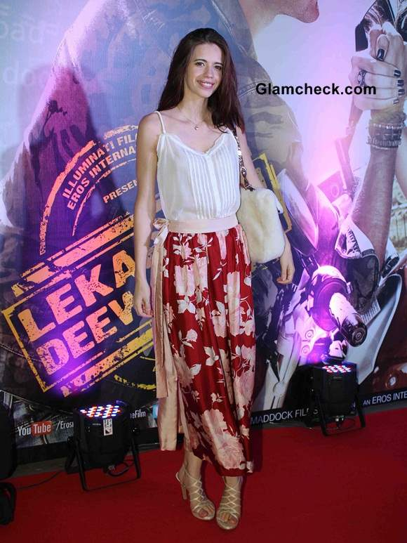 Kalki Koechlin at Lekar Hum Deewana Dil Premiere