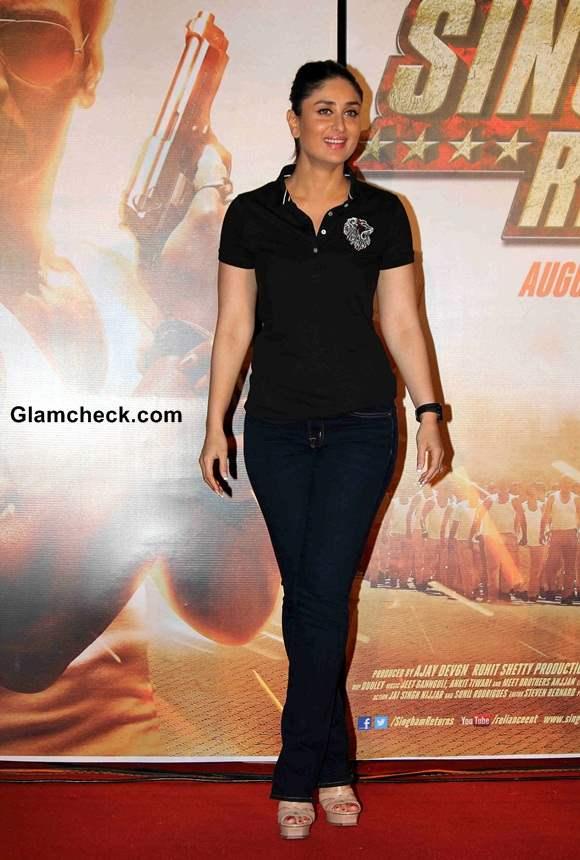 Kareena Kapoor at Singham Returns Trailer Launch