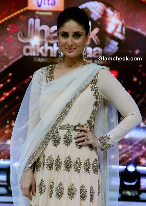 Kareena Kapoor traditional look Jhalak Dikhlaja Season 7