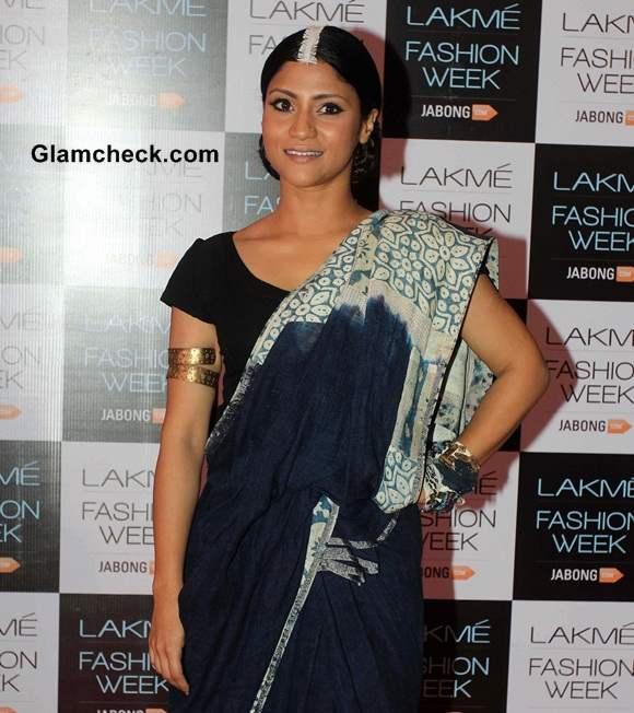 Konkona Sen Sharma 2014 Lakme Fashion Week