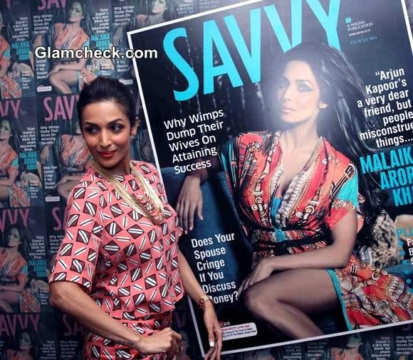 Malaika Arora Khan at Savvy Cover 2014 Launch in Zara