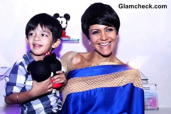 Mandira Bedi with son Vir