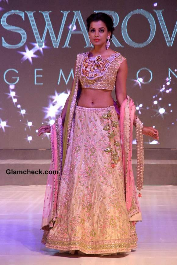 Mugdha Godse 2014 Gems and Jewelry Times Launch