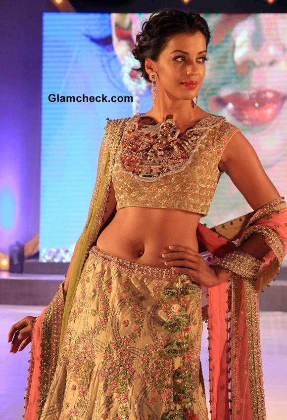 Mugdha Godse 2014 at Gems and Jewelry Times Launch
