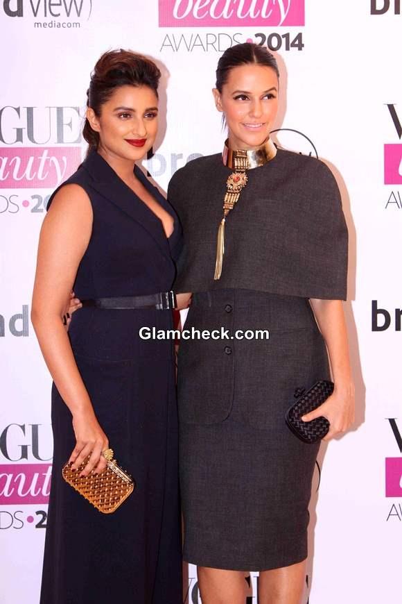 Parineeti Chopra and Neha Dhupia