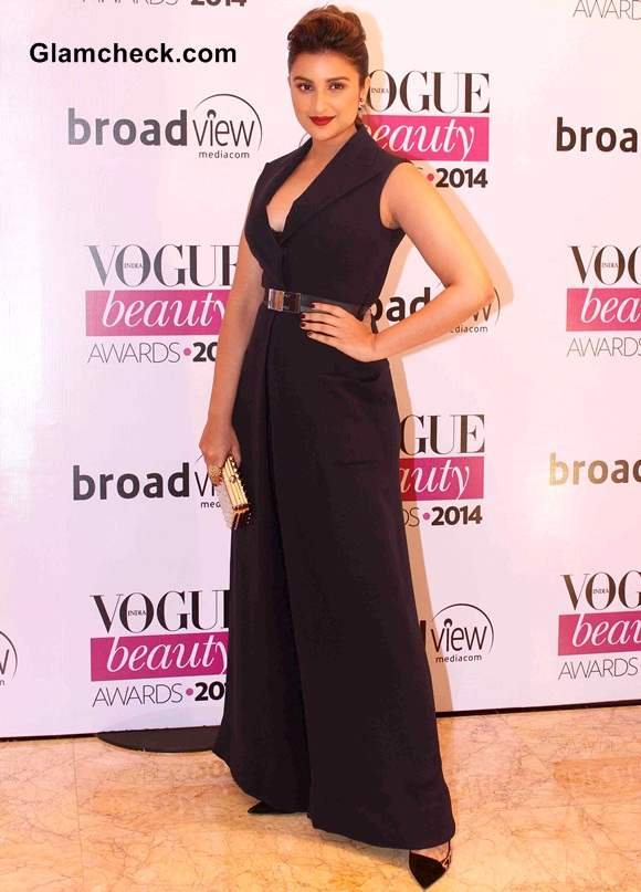 Parineeti Chopra at Vogue Beauty Awards 2014